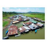 Balsa de Myanmar Postales