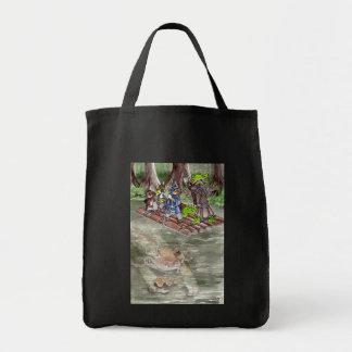 Balsa del pantano bolsa tela para la compra