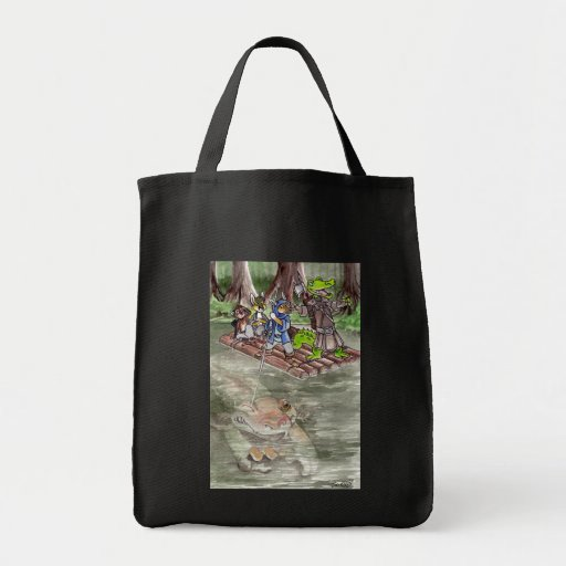 Balsa del pantano bolsa de mano