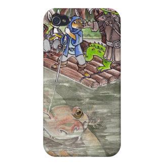 Balsa del pantano iPhone 4 cárcasa