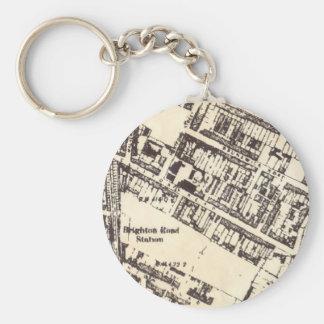 Balsall Heath Basic Round Button Keychain