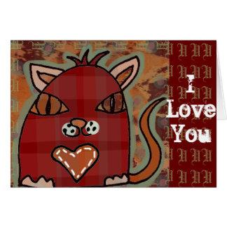 Balsam 'I Love You' card