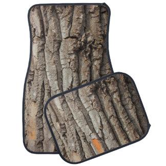 Balsam Poplar tree trunk Car Floor Mat