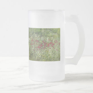 Bálsamo de abeja (bergamota) en agosto taza de cristal