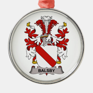 Balsby Family Crest Ornaments