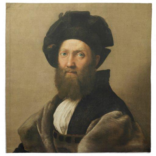 Baltasar Castiglione por Raphael de Raffaello Servilletas De Papel