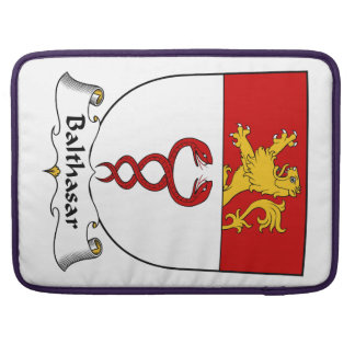 Balthasar Family Crest Sleeve For MacBook Pro