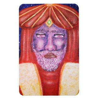 """Balthasar"" Three Kings Christmas Art Magnet"