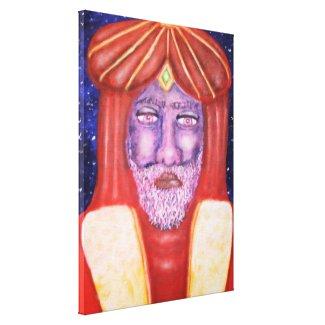Balthasar (Three Kings) Holiday Art Canvas Print