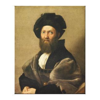 Balthazar Castiglione by Raffaello Sanzio Raphael Canvas Print