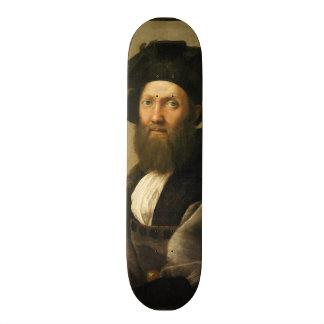 Balthazar Castiglione by Raffaello Sanzio Raphael Skateboard Deck