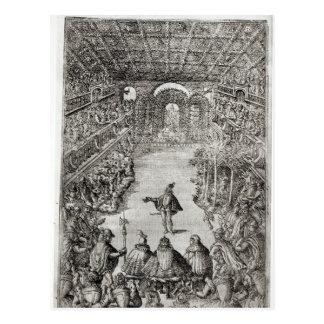 Balthazar de Beaujoyeux Postcard
