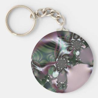 Baltic Ambrosia Basic Round Button Keychain