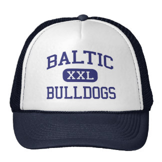 Baltic - Bulldogs - High - Baltic South Dakota Trucker Hat