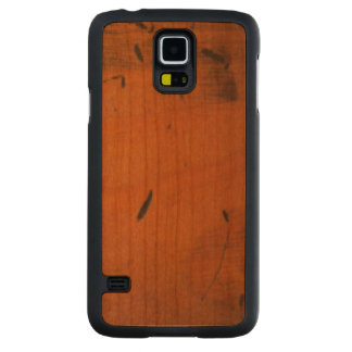 Baltic Pine Carved® Wood Samsung Galaxy S5 Cases Carved® Walnut Galaxy S5 Slim Case