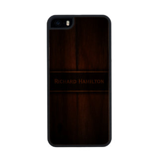 Baltic Pine Wood Carved® Wooden iPhone 5 5S Case Carved® Walnut iPhone 5 Case