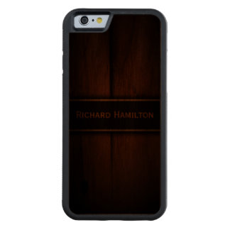 Baltic Pine Wood Carved® Wooden iPhone 6 Cases Carved® Walnut iPhone 6 Bumper Case