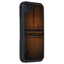 Baltic Pine Wood Faux Wood iPhone 5 5S Tough Case