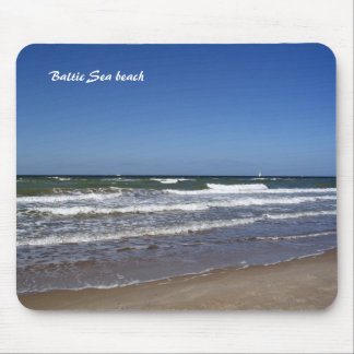 Baltic Sea beach Mouse Pad