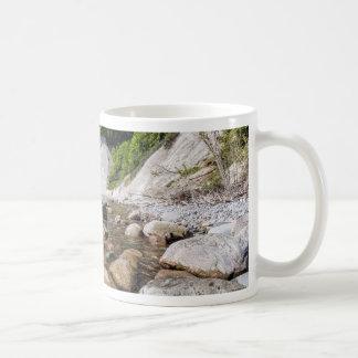 Baltic Sea coast on the island Ruegen Coffee Mug