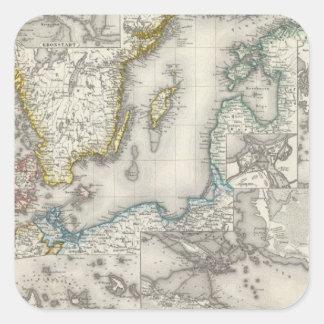 Baltic Sea Region Square Sticker