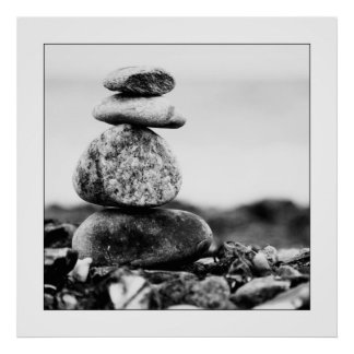 Baltic Sea stones Poster