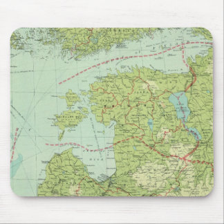 Baltic States & East Prussia Mouse Pad