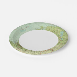 Baltic States & East Prussia Paper Plate