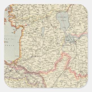 Baltic States Square Sticker