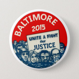 Baltimore 2015 pinback button