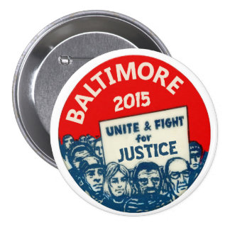 Baltimore 2015 pinback button