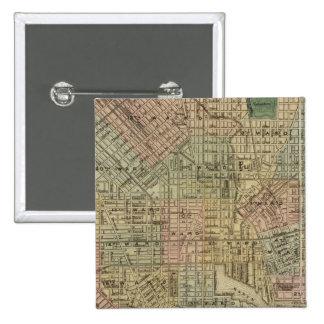 Baltimore 2 pin cuadrada 5 cm