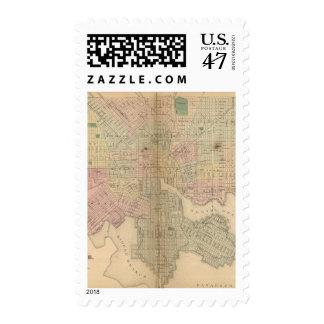 Baltimore 3 postage stamp