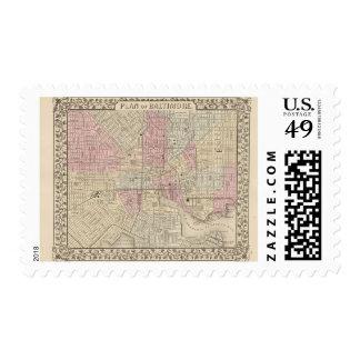 Baltimore 4 postage