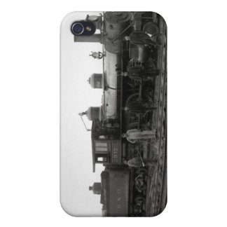 Baltimore and Ohio Railroad Engine 932 Vintage iPhone 4 Cases