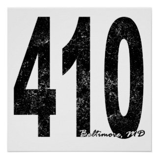 Baltimore apenada 410 posters