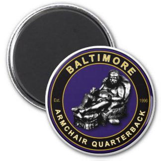 Baltimore Armchair Quarterback Football Magnet