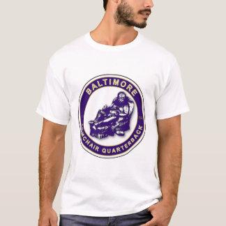 Baltimore Armchair Quarterback Football Pillow T-Shirt