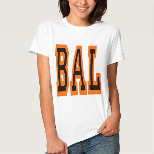 Baltimore BAL Design 5 Tee Shirt