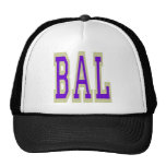 Baltimore BAL Design 6 Hats