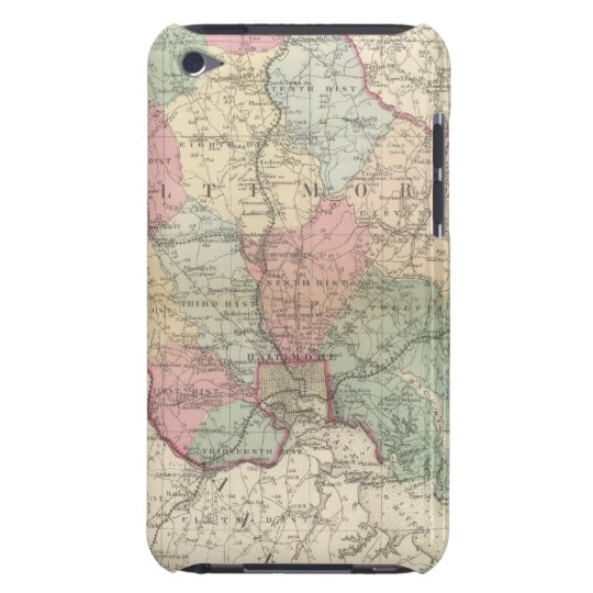 Baltimore Barely There iPod Cover