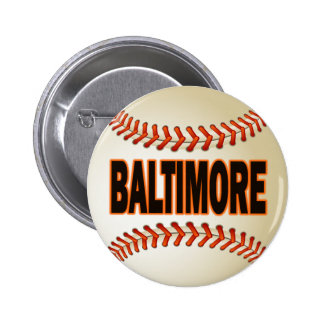 BALTIMORE BASEBALL PINBACK BUTTON
