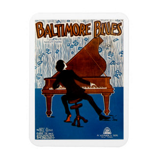 Baltimore Blues Magnet