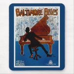 Baltimore Blues Mouse Pads