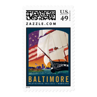 Baltimore By the Dawn s Early Light Stamp