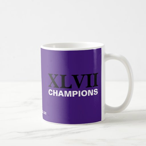 Baltimore - campeones de XLVII Taza De Café