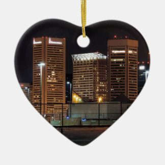 Baltimore céntrica en la noche