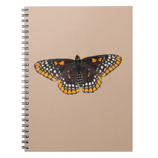 Baltimore Checkerspot Butterfly Note Book