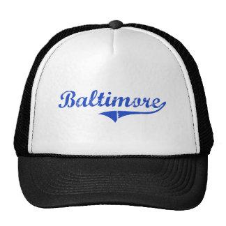 Baltimore City Classic Hats