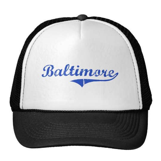 Baltimore City Classic Trucker Hat